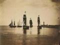 Gustave Le Gray, Navi lasciano il porto di Le Havre, 1856