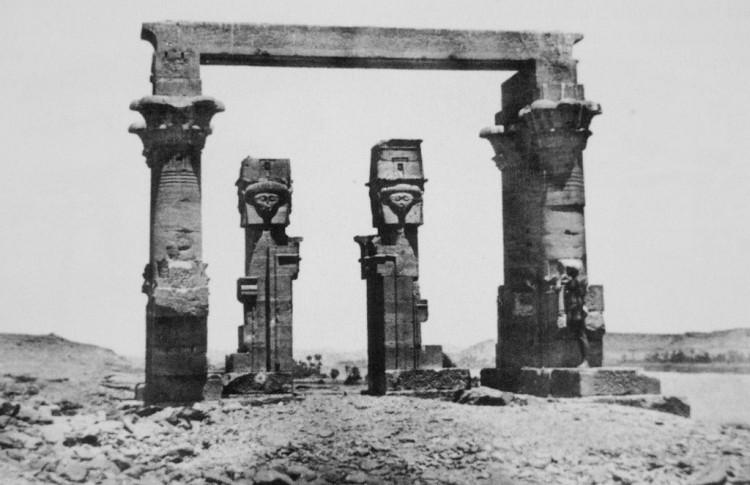 Maxime Du Camp, Tempio di Wady Kardassy, 1849-51