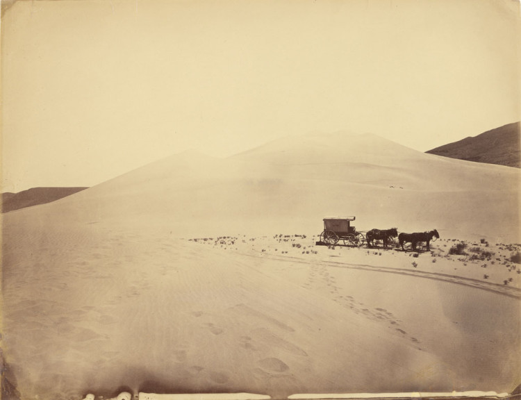 Timothy H. O'Sullivan, Desert Sand Hills near Sink of Carson, Nevada, 1867
