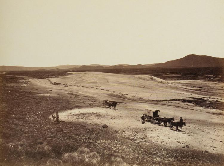 Timothy H. O'Sullivan, Steamboat Springs, Nevada, 1867