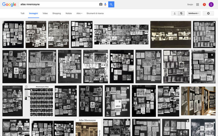 Google Immagini – Atlas Mnemosyne