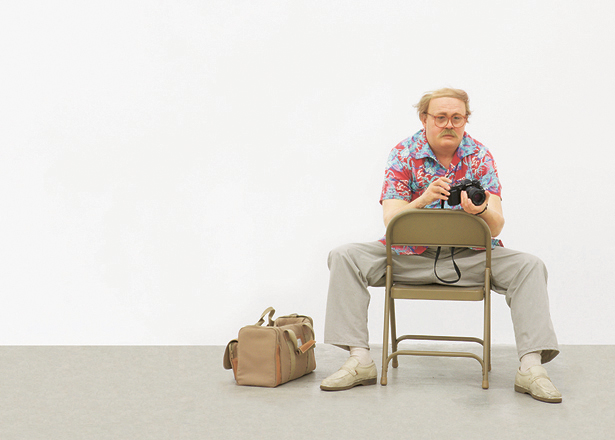 Duane Hanson, Man with Camera, 1991